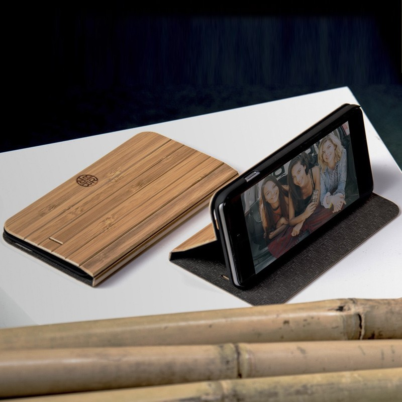 Reveal - Nara Folio hoes voor iPhone 7 Bamboo 06