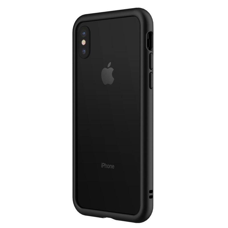 Rhinoshield CrashGuard Bumper iPhone X Zwart - 1