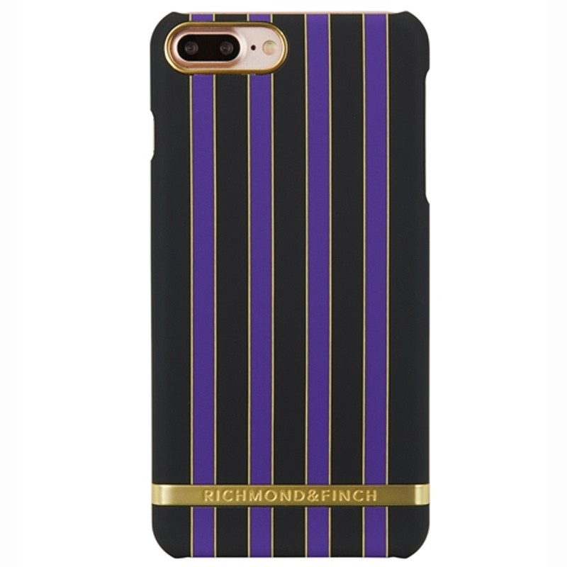 Richmond & Finch - Stripes Hoesje iPhone 7 Plus Acai Stripes 01