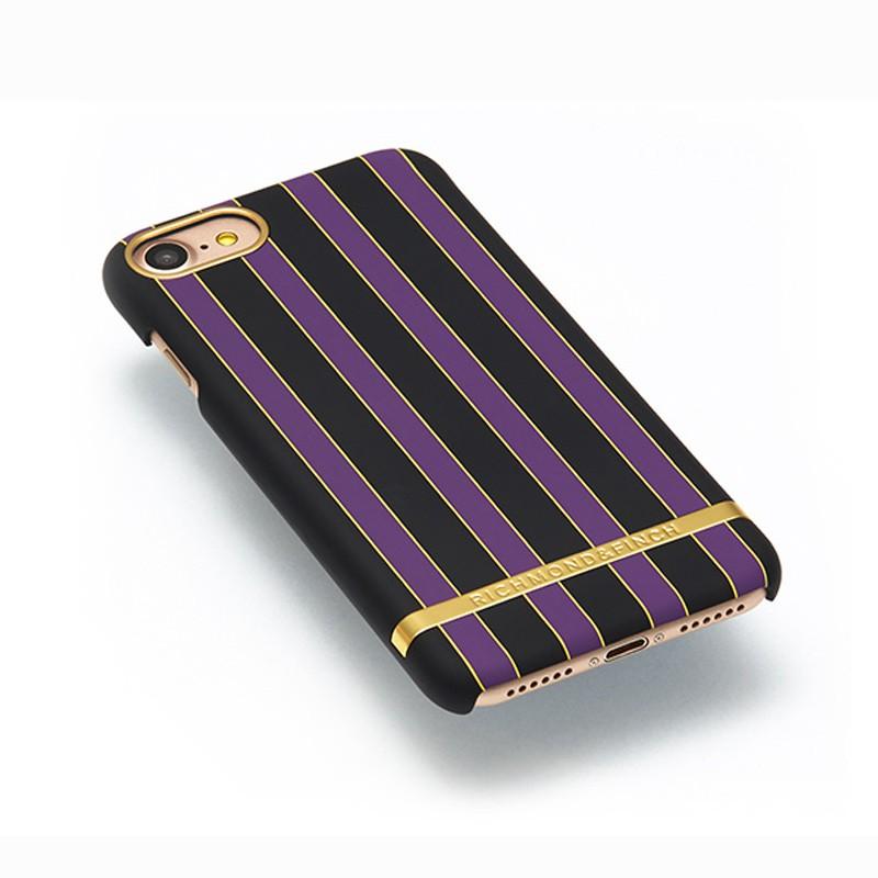 Richmond & Finch - Stripes Hoesje iPhone 7 Acai Stripes 03