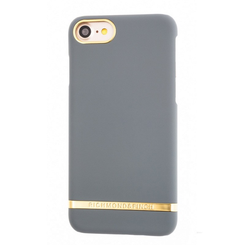 Richmond & Finch Classic Satin Case iPhone 7 Ash Grey - 1