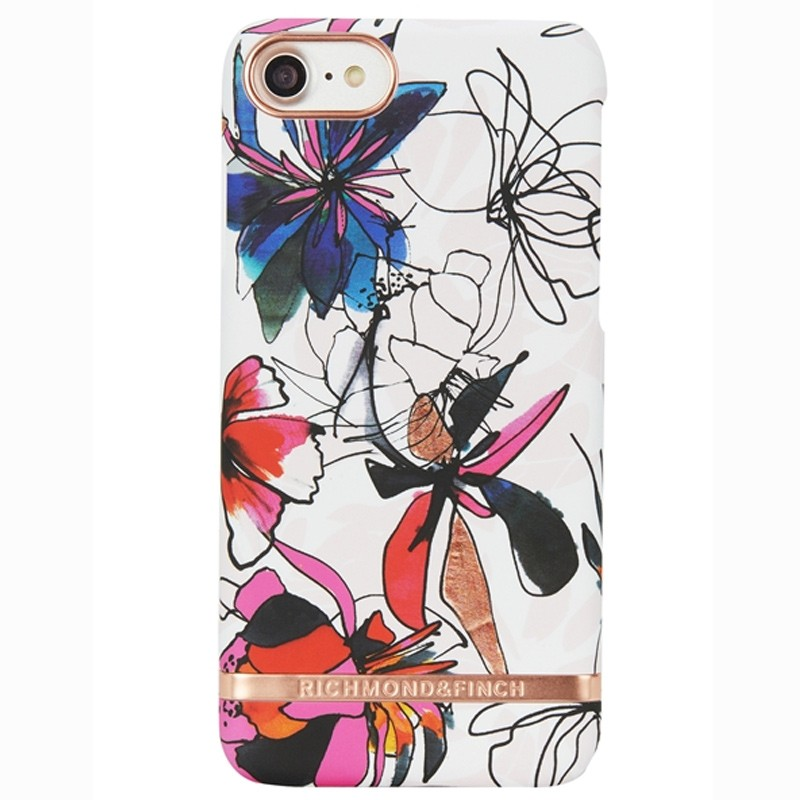 Richmond & Finch - Blossom Hoesje iPhone 7 Enchanted Satin 01