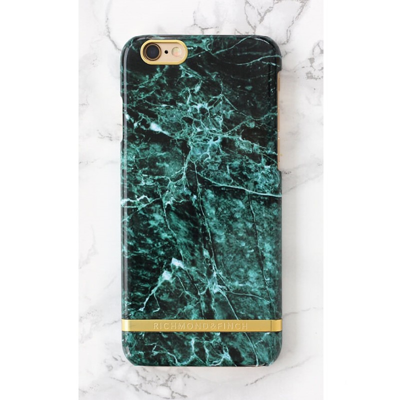 Richmond & Finch - Marble Case iPhone SE / 5S / 5 Green 02