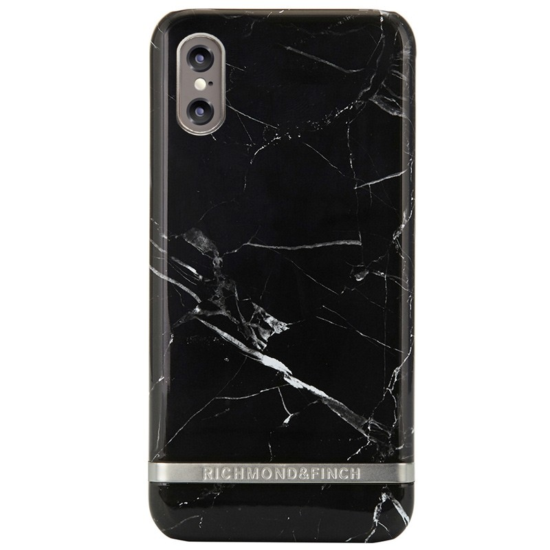 Richmond & Finch Marble Case iPhone X/Xs Black Marble - 1