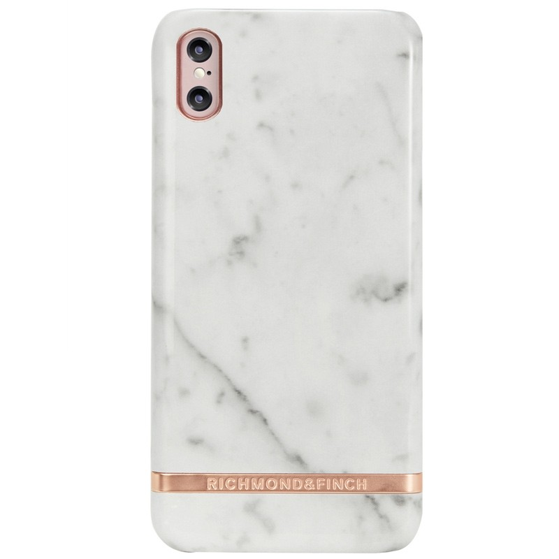 Richmond & Finch Marble Case iPhone X/Xs White Marble - 1