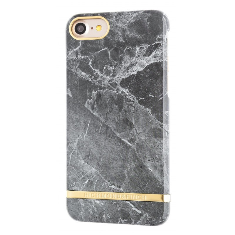 Richmond & Finch Marble Glossy iPhone 7 Grey - 1