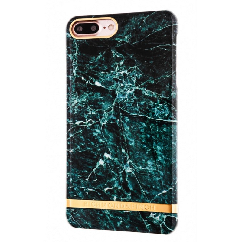 Richmond & Finch Marble Case iPhone 7 Plus Green - 1