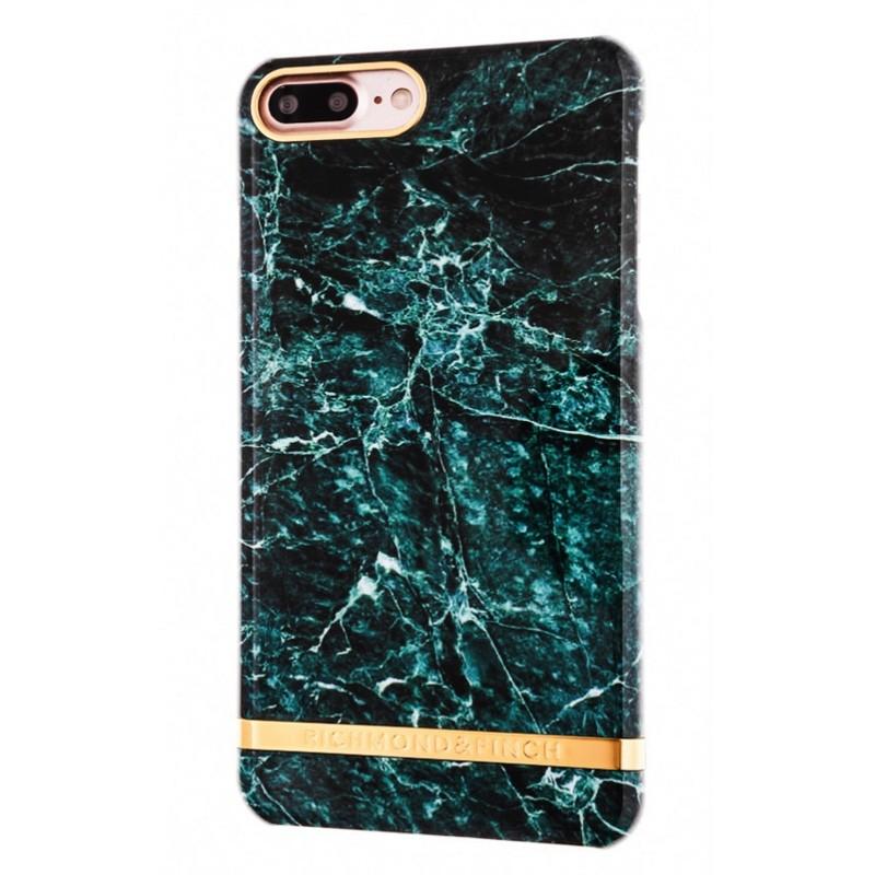 Richmond & Finch Marble Case iPhone 7 Plus Green - 1