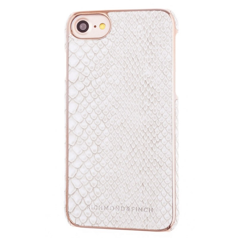 Richmond & Finch Framed Rosé Reptile iPhone 7 White - 1