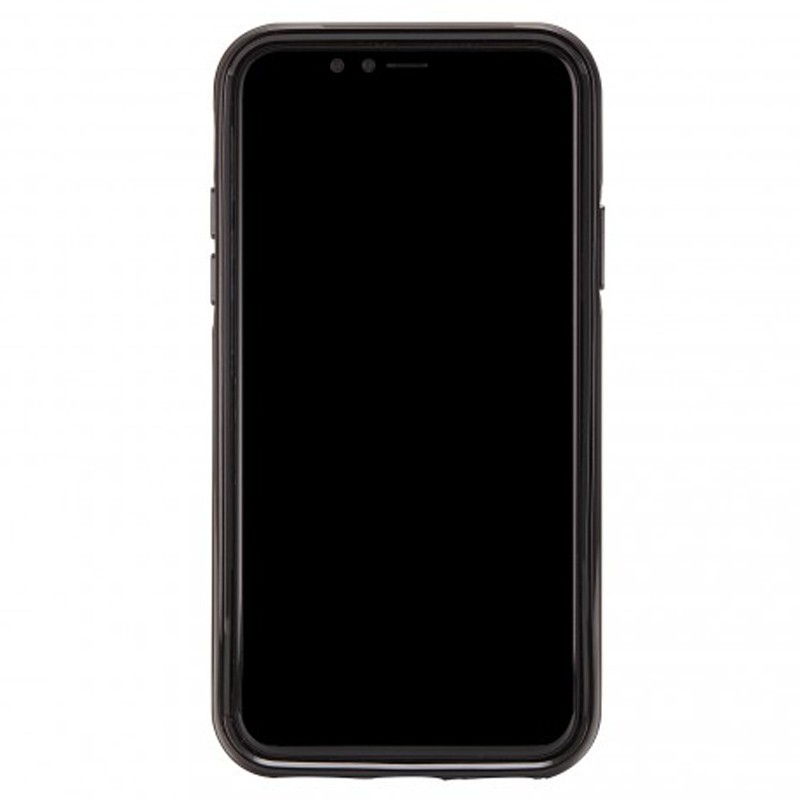 Richmond and Finch Trendy iPhone XR Hoesje Black Marble 02