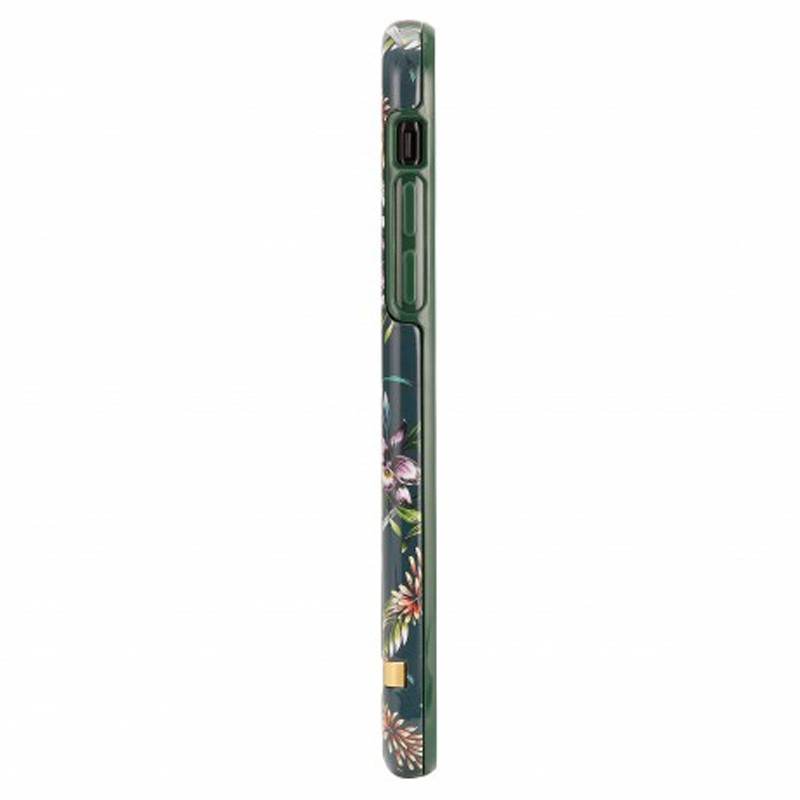 Richmond and Finch Trendy iPhone XR Hoesje Emerald Blossom 04