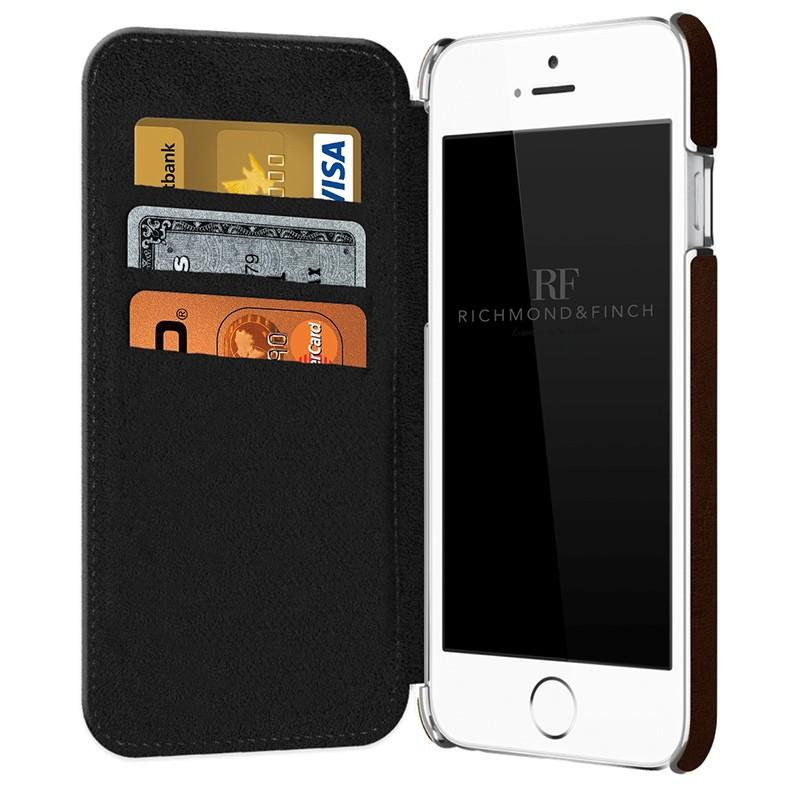 Richmond & Finch - Framed Wallet Case iPhone 6 / 6S Black 03