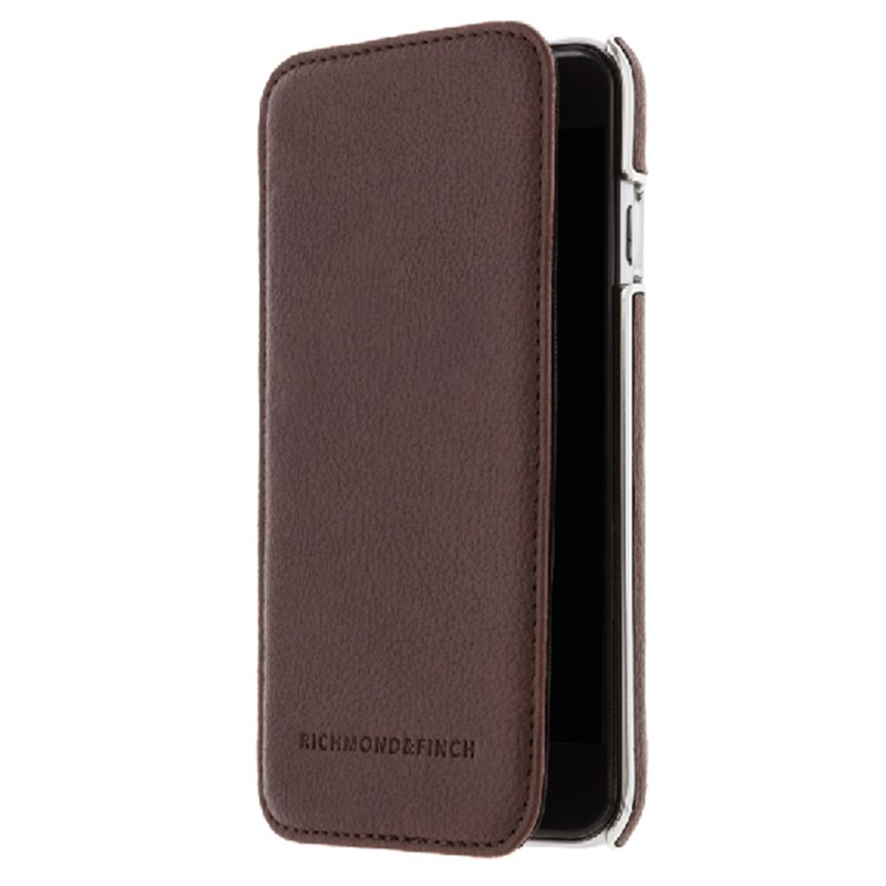 Richmond & Finch - Framed Wallet Case iPhone 6 / 6S Brown 01