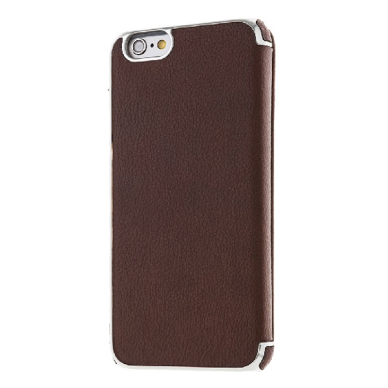 Richmond & Finch - Framed Wallet Case iPhone 6 / 6S Brown 02
