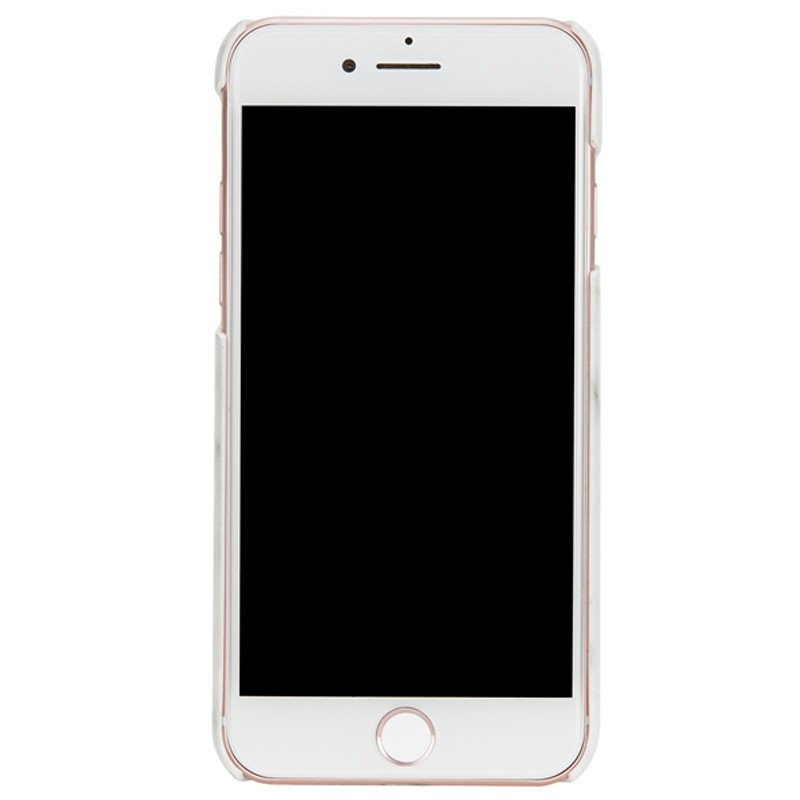 Richmond & Finch - Marble Glossy iPhone 7 White Silver 02