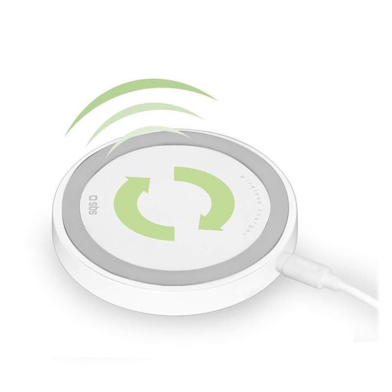 SBS Mobile 7,5W Qi Wireless Desk Charger Wit 01