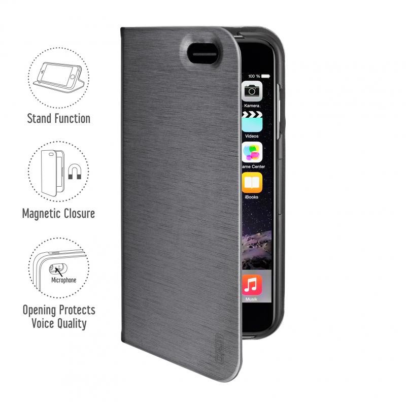Artwizz SeeJacket Folio iPhone 6 Titan - 1