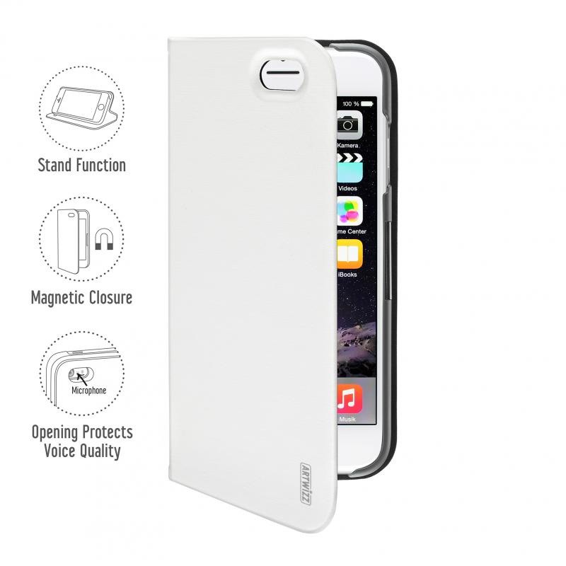 Artwizz SeeJacket Folio iPhone 6 White - 1
