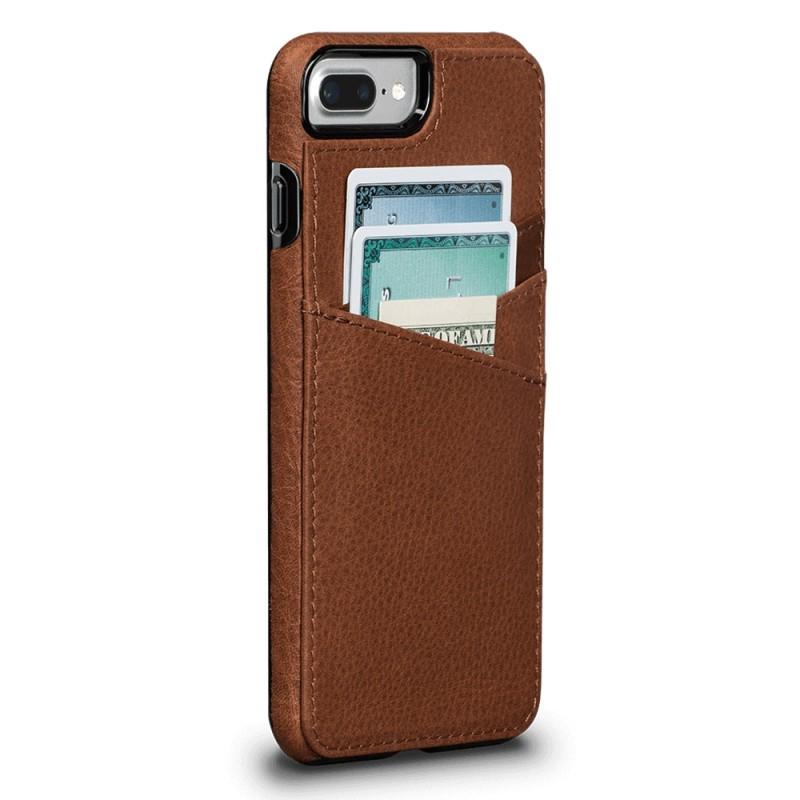 Sena Bence Lugano Wallet iPhone 8 Plus/7 Plus Bruin - 1