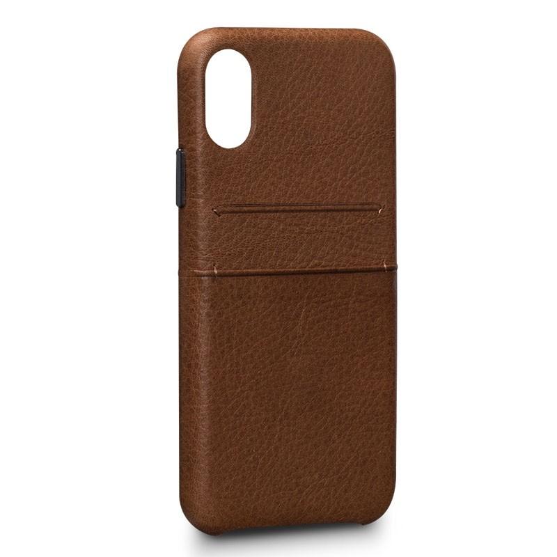 Sena Bence Snap On Wallet iPhone X Tan Brown - 1