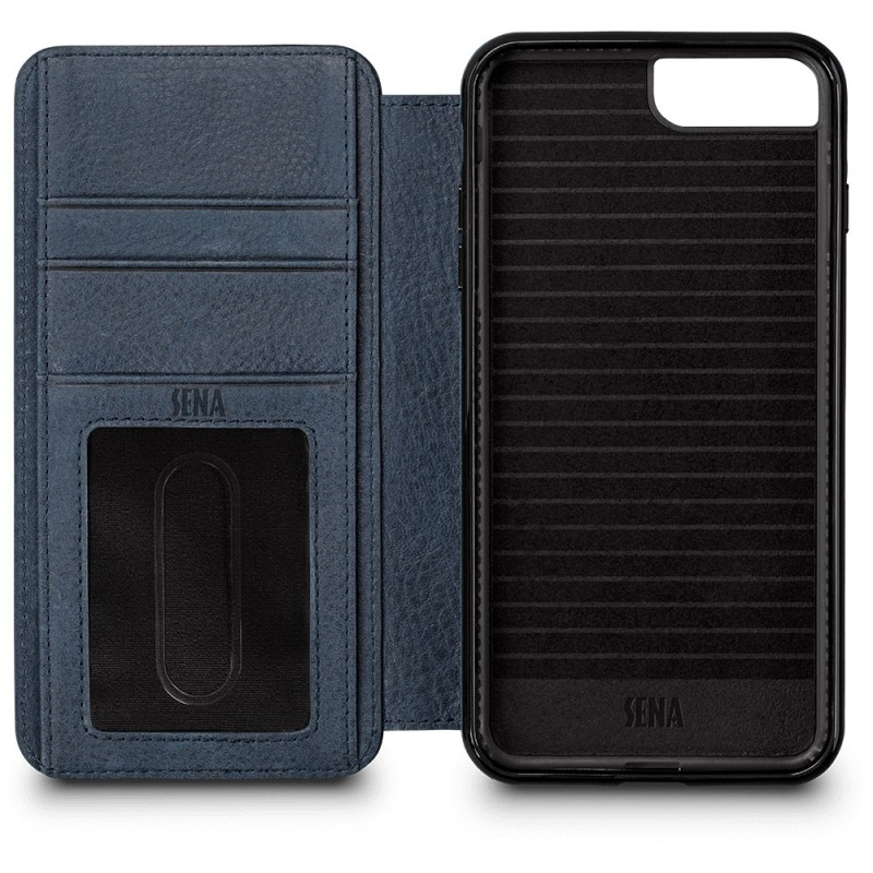 Sena Bence Wallet Book iPhone 8 Plus/7 Plus Blauw - 4