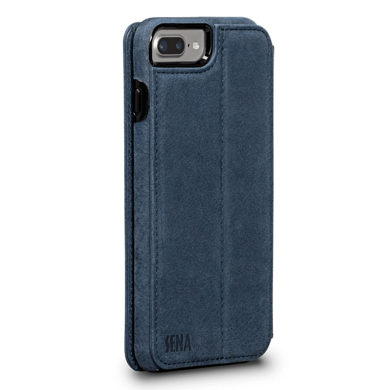 Sena Bence Wallet Book iPhone 8 Plus/7 Plus Blauw - 5