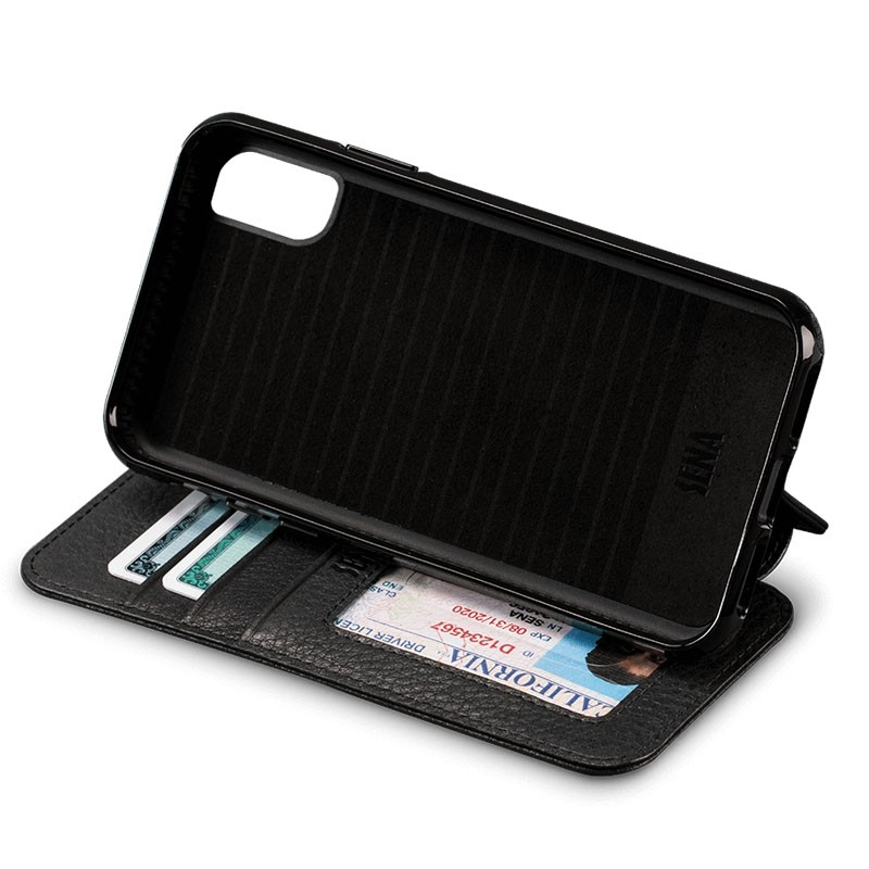 Sena Bence Lugano Wallet iPhone X Black - 3