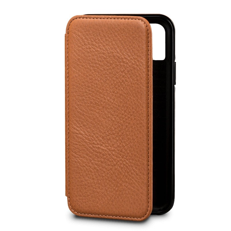 Sena Bence Lugano Wallet iPhone X/Xs Tan Brown - 2