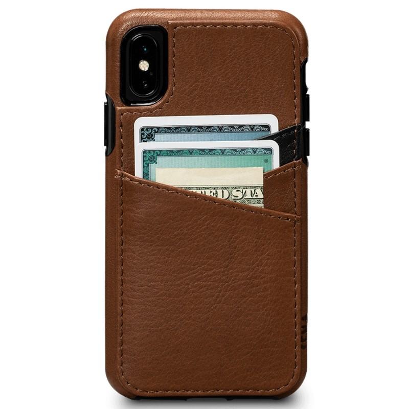 Sena Deen Lugano Wallet Phone X/XS Hoes Bruin 02