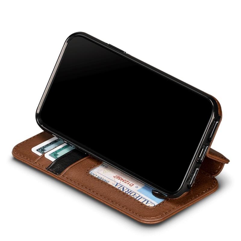 Sena Deen Wallet Book iPhone X/XS Bruin 05