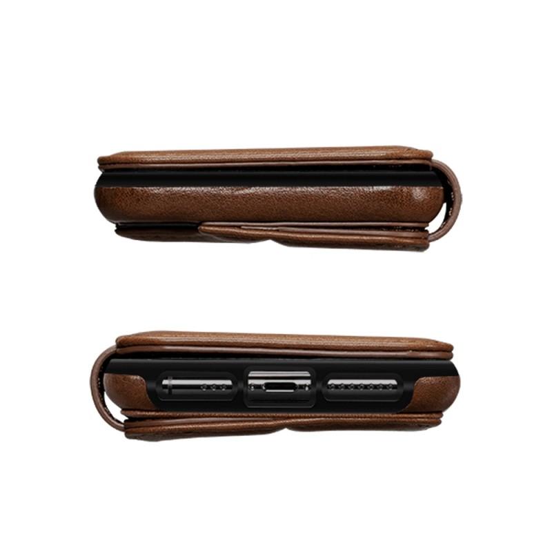 Sena Deen Wallet Book iPhone X/XS Bruin 06