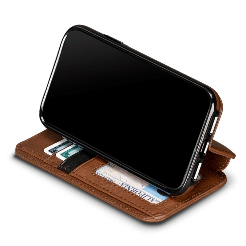 Sena Deen Wallet Book iPhone XR Bruin 05