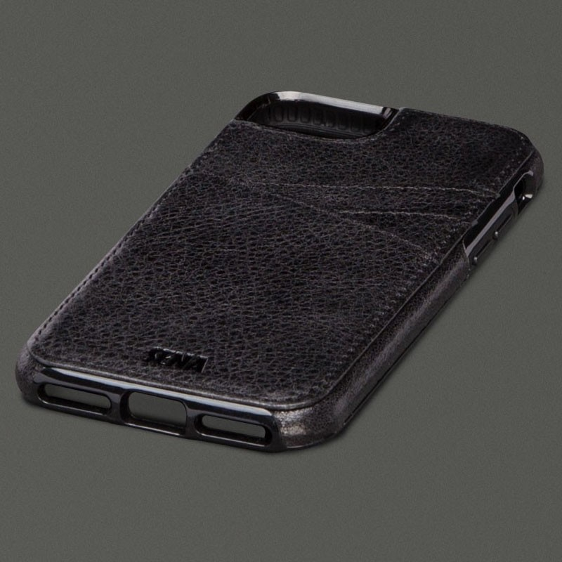 Sena Lugano Wallet iPhone 7 Black - 1