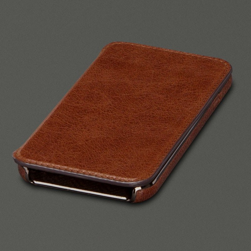 Sena Ultra Thin Wallet Book iPhone 7 Cognac - 1
