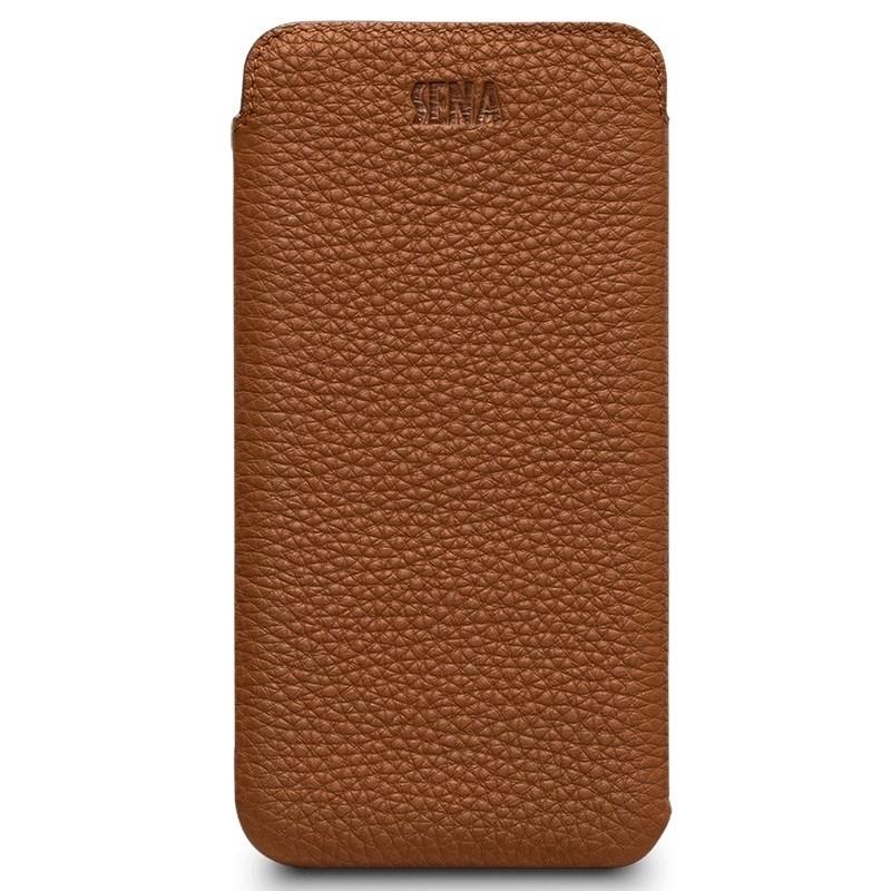 Sena UltraSlim Classic iPhone X/Xs Tan Brown - 2
