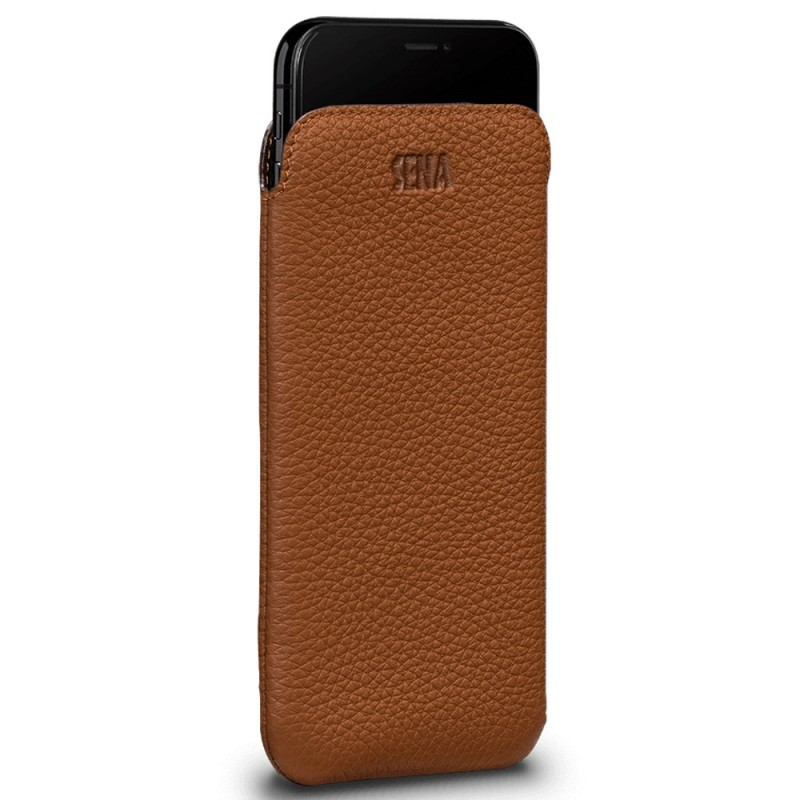 Sena UltraSlim iPhone XR Sleeve Bruin 01