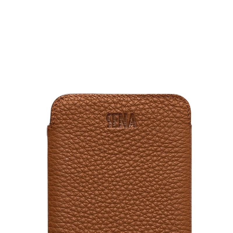 Sena UltraSlim iPhone XS Max Hoesje Bruin 03