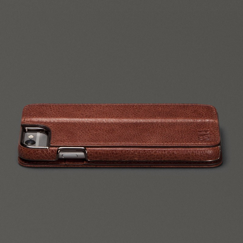 Sena Heritage Wallet Book iPhone 6 Brown - 4