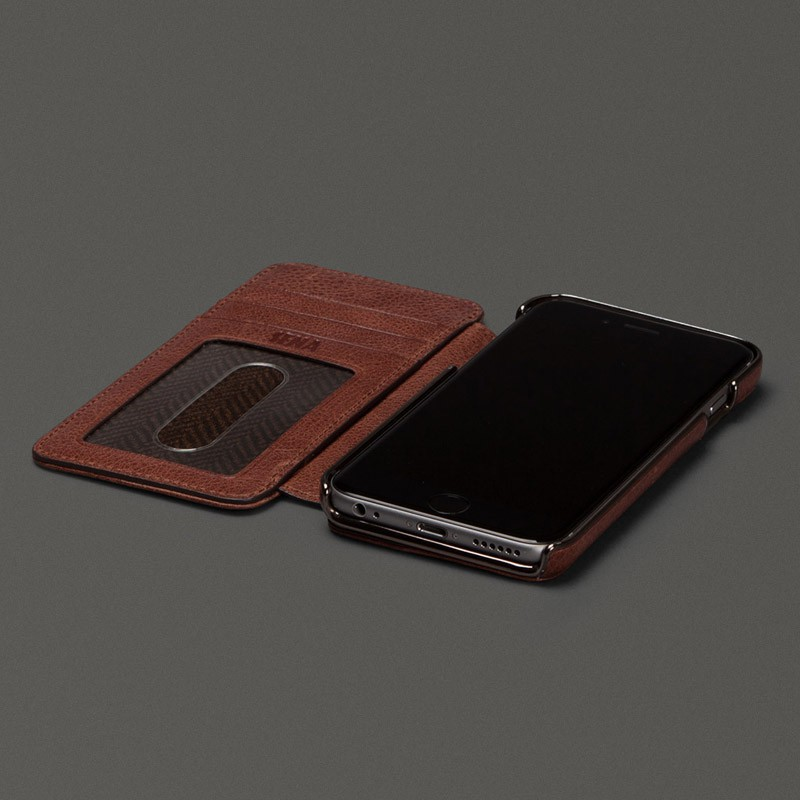 Sena Heritage Wallet Book iPhone 6 Brown - 6