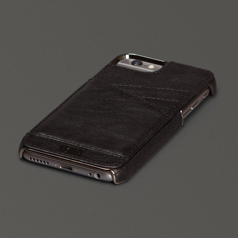 Sena Lugano Wallet iPhone 6 Black - 1