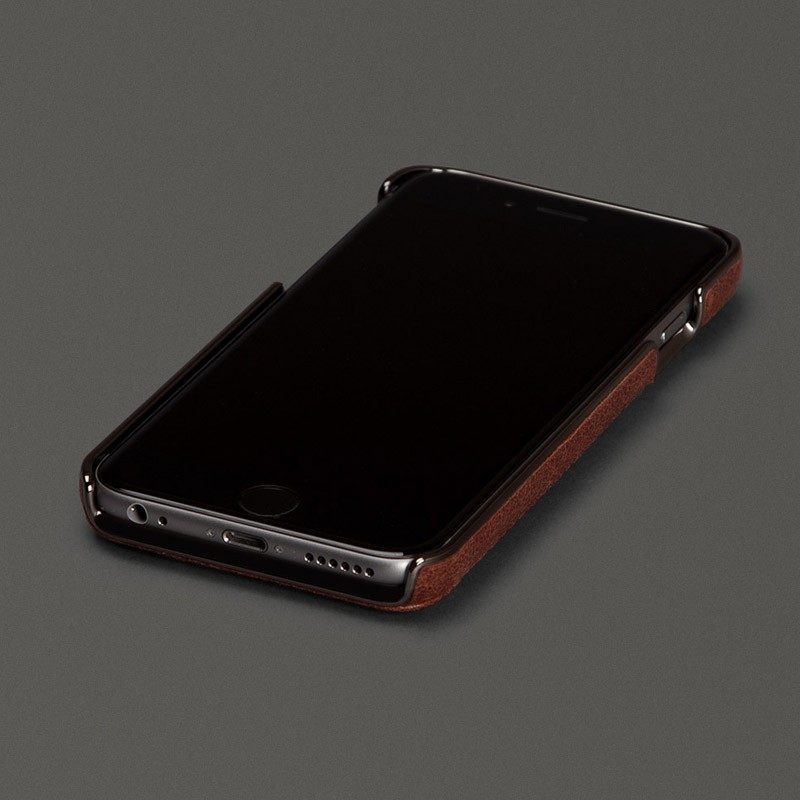 Sena Lugano Wallet iPhone 6 Brown - 2