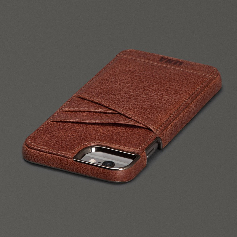 Sena Lugano Wallet iPhone 6 Plus Brown - 3