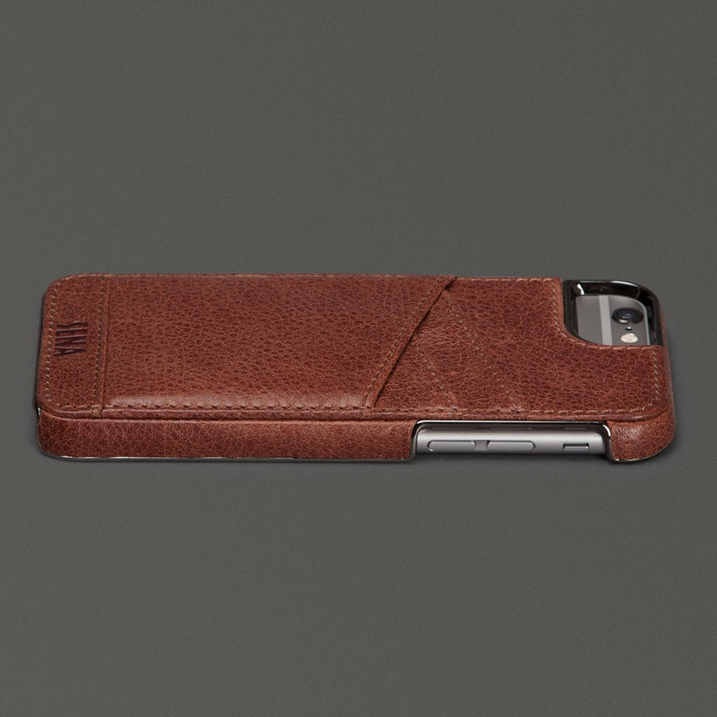 Sena Lugano Wallet iPhone 6 Plus Brown - 4