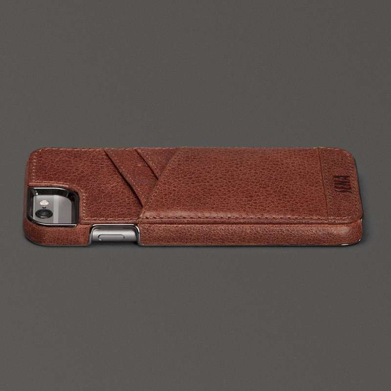 Sena Lugano Wallet iPhone 6 Brown - 5