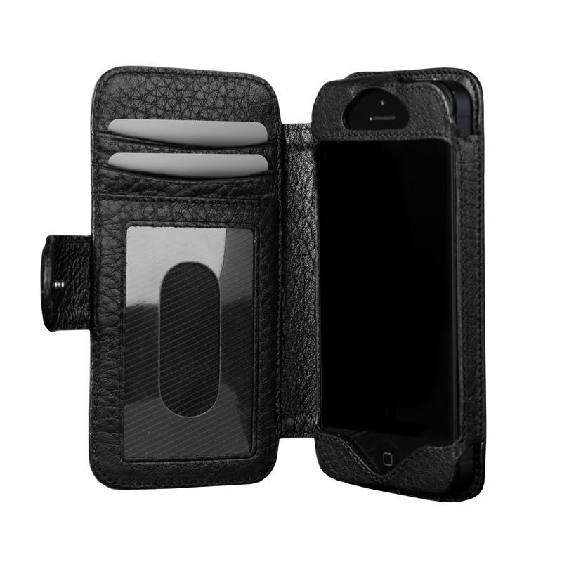 Sena Walletbook iPhone 5 Black - 7