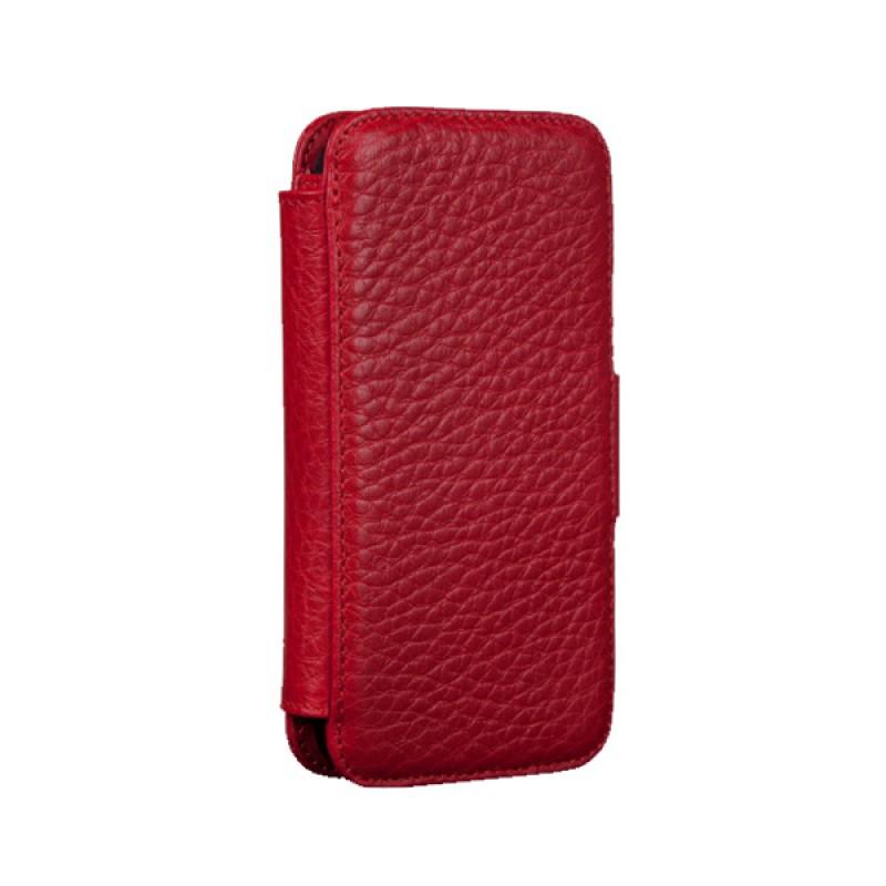 Sena Walletbook iPhone 5 Pebble Red - 1