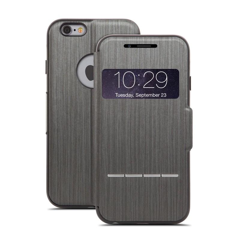 Moshi SenseCover iPhone 6 Steel Black - 1