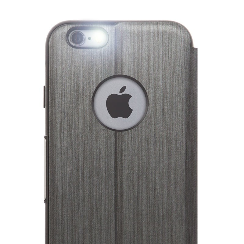 Moshi SenseCover iPhone 6 Plus Steel Black - 2