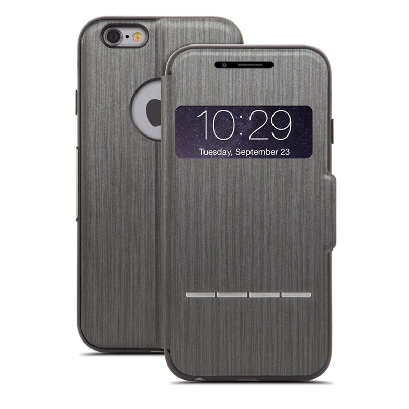 Moshi SenseCover iPhone 6 Plus Steel Black - 1