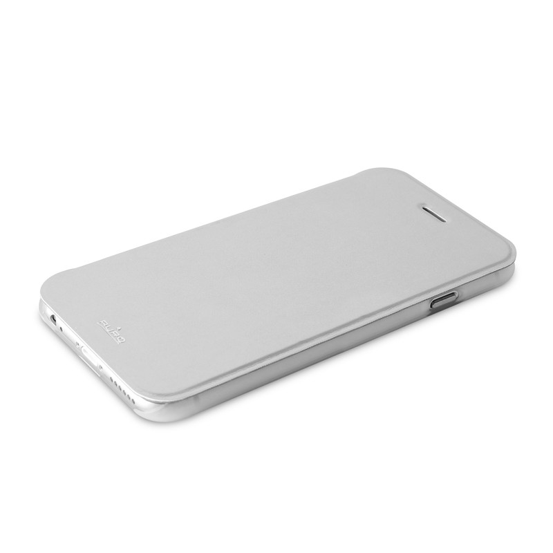 Puro - Eco Leather Wallet iPhone 6 Plus Silver - 6